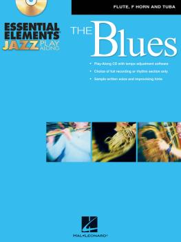 Essential Elements Jazz Play-Along - The Blues: Flute, F Horn and Tuba (HL-00842361)