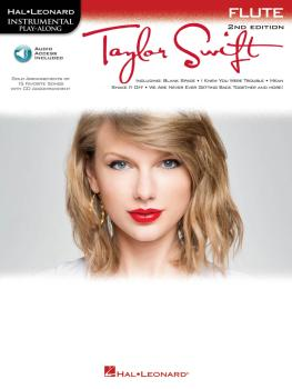 Taylor Swift - 2nd Edition: Flute Play-Along Book with Online Audio (HL-00842532)