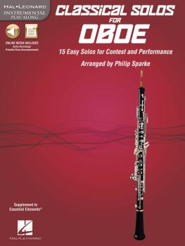 Classical Solos for Oboe: 15 Easy Solos for Contest and Performance (HL-00842543)