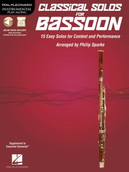 Classical Solos for Bassoon: 15 Easy Solos for Contest and Performance (HL-00842544)