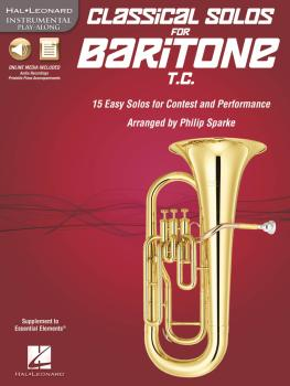 Classical Solos for Baritone T.C.: 15 Easy Solos for Contest and Perfo (HL-00842552)