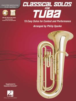 Classical Solos for Tuba (B.C.): 15 Easy Solos for Contest and Perform (HL-00842553)