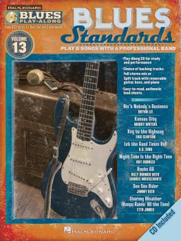 Blues Standards: Blues Play-Along Volume 13 (HL-00843205)