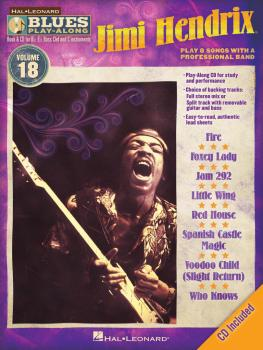 Jimi Hendrix: Blues Play-Along Volume 18 (HL-00843218)