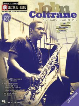 John Coltrane Standards: Jazz Play-Along Volume 163 (HL-00843235)