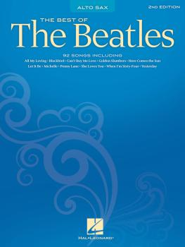 Best of the Beatles - 2nd Edition (Alto Sax) (HL-00847219)