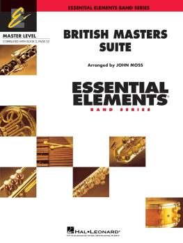 British Masters Suite: Includes Full Performance CD (HL-00862130)