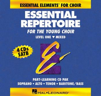 Essential Repertoire for the Young Choir: Level 1 Mixed, Part-Learning (HL-00866013)