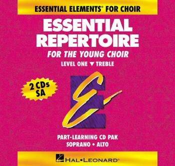 Essential Repertoire for the Young Choir: Level 1 Treble, Part-Learnin (HL-00866044)
