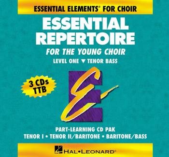 Essential Repertoire for the Young Choir: Level 1 Tenor Bass, Part-Lea (HL-00866045)