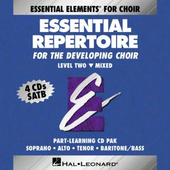 Essential Repertoire for the Developing Choir: Level 2 Mixed, Part-Lea (HL-00866049)