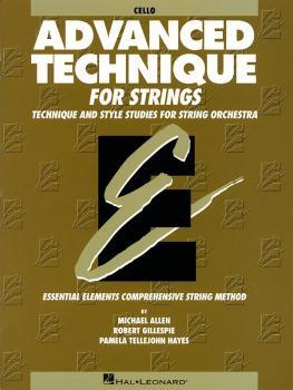 Advanced Technique for Strings (Essential Elements series) (Cello) (HL-00868036)
