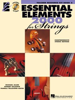 Essential Elements 2000 for Strings - Book 2 (Teacher Resource Kit) (HL-00868133)
