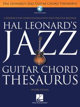 Jazz Guitar Chord Thesaurus (HL-00102475)