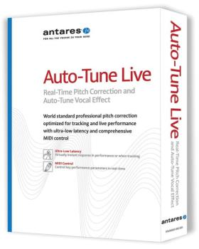 Auto-Tune Live: Real-Time Pitch Correction and Auto-Tune Vocal Effect (AN-00102496)