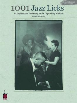 1001 Jazz Licks: A Complete Jazz Vocabulary for the Improvising Musici (HL-02500133)