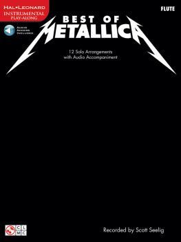 Best of Metallica: 12 Solo Arrangements with Audio Accompaniment (HL-02501327)