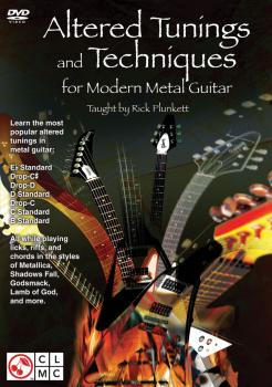 Altered Tunings and Techniques for Modern Metal Guitar (HL-02501457)