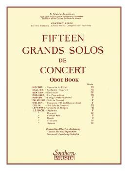 15 Grands Solos de Concert (Oboe) (HL-03770182)