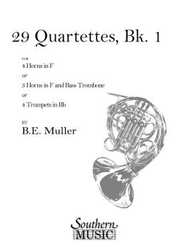 29 Quartets, Book 1 (Archive) (Horn Quartet) (HL-03770288)