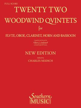 22 Woodwind Quintets - New Edition (Woodwind Quintet) (HL-03770291)