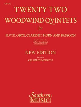 22 Woodwind Quintets - New Edition (Oboe Part) (HL-03770294)
