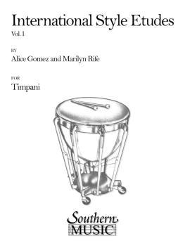 International Style Etudes, Vol. 1: Percussion Music/Timpani Method/st (HL-03770588)