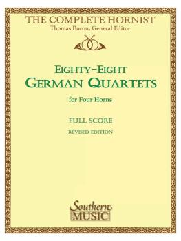 88 German Quartets (Horn Quartet) (HL-03770607)