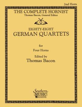 88 German Quartets: Horn Quartet - Horn 2 (HL-03770609)