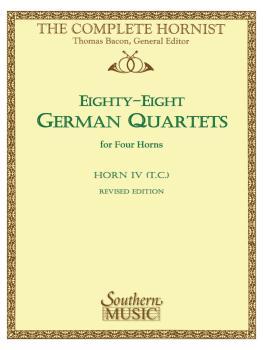 88 German Quartets: Horn Quartet - Horn T.C. 4 (HL-03770612)