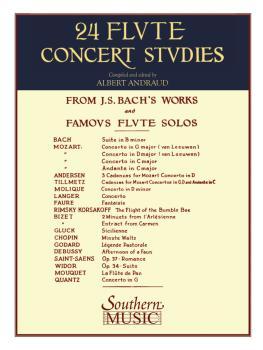24 Flute Concert Studies (Unaccompanied Flute) (HL-03770628)