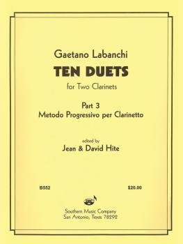 Ten Duets from Metodo Progressivo (Clarinet) (HL-03770894)