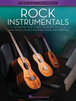 Rock Instrumentals: Ukulele Ensembles Late Intermediate (HL-00103909)