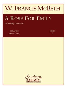 A Rose for Emily: String Orchestra Music/String Orchestra (HL-03773665)