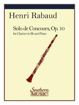 Solo de Concours (Clarinet) (HL-03773903)