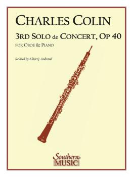 Third Solo de Concert (Oboe) (HL-03774144)
