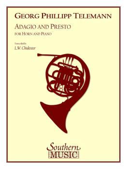 Adagio and Presto (Horn) (HL-03774394)
