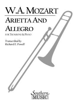Arietta and Allegro, K109b/8 K3: Trombone, Baritone or Trumpet and Pia (HL-03774509)