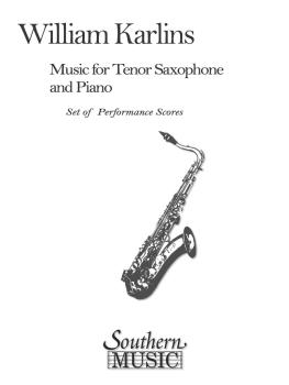 Music for Tenor Saxophone and Piano (Tenor Sax) (HL-03774669)
