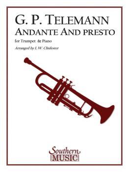 Andante and Presto (Trumpet) (HL-03774694)