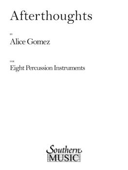 Afterthoughts: Percussion Music/Percussion Ensembles (HL-03775619)