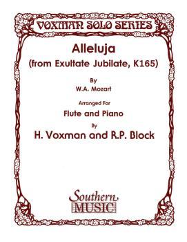 Alleluja (from Exultate Jubilate, K165) (Flute) (HL-03775936)