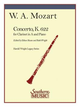 Concerto in A for Clarinet, K. 622 (Clarinet) (HL-03776214)