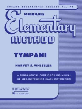 Rubank Elementary Method - Timpani (HL-04470110)