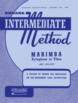 Rubank Intermediate Method - Marimba, Xylophone or Vibes (HL-04470270)
