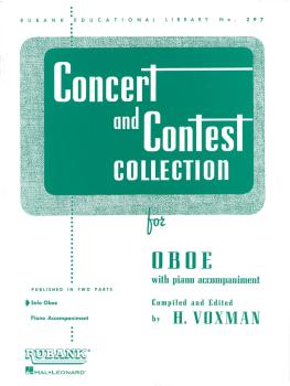 Concert and Contest Collection for Oboe (Solo Book Only) (HL-04471670)
