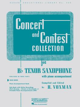 Concert and Contest Collection for Bb Tenor Saxophone (Solo Book Only) (HL-04471710)