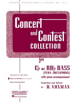 Concert and Contest Collection for Bass/Tuba (B.C.) (Solo Book Only) (HL-04471810)