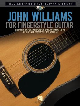 John Williams for Fingerstyle Guitar: Hal Leonard Solo Guitar Library (HL-00116026)