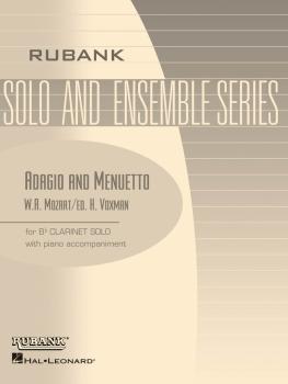 Adagio and Menuetto: Bb Clarinet Solo with Piano - Grade 3.5 (HL-04476743)
